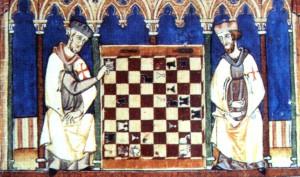 Tempelritter spielen schach