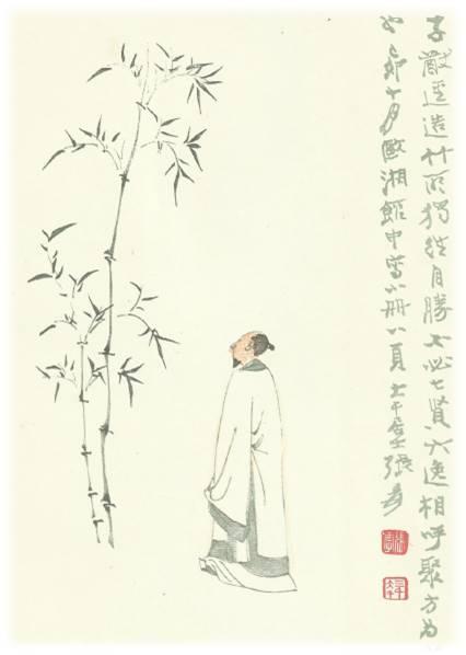 Bambus wächst